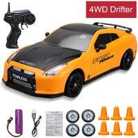 Potente ad alta velocità 4WD RC Car Drift Toy 2.4G Rapid Drifter Racing Game Car Remote Control Model Vehicle giocattoli per bambini per Boy Carro