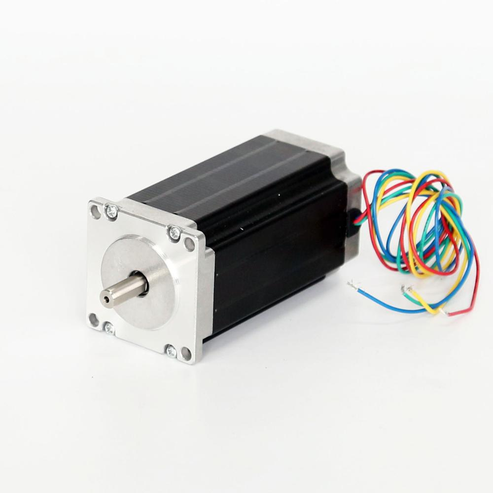 1pc High Torque 2-phase 60bygh Stepper Motor 3.2nm.3.0a60x100mm Nema24 Nema24 Stepper Motor For Cnc Engraving Machine image