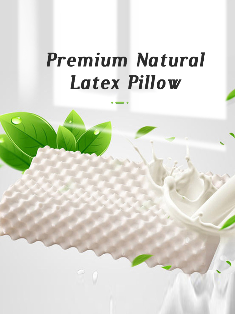 GIANTEX Latex Pillow Kussens Sleeping-Orthopedic-Pillow Almohada Cervical-Poduszkap Oreiller