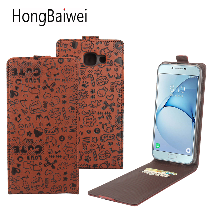 For <font><b>Samsung</b></font> Galaxy A8 <font><b>2016</b></font> <font><b>Case</b></font> Cute <font><b>Cartoon</b></font> Vertical Flip Luxury Leather <font><b>Phone</b></font> <font><b>Case</b></font> Cover for <font><b>Samsung</b></font> A8 <font><b>2016</b></font> A3 <font><b>A5</b></font> 2017 image