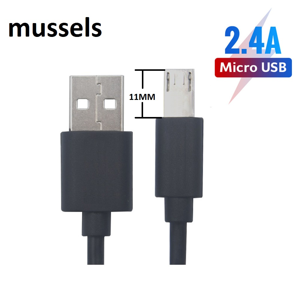 11 mm Long Connector Micro USB Cable Kabel For HOMTOM HT20 Pro ZOJI Z7 Z8 Guophone V9 V19 Oukitel Mix 2 Phone Cable(China)