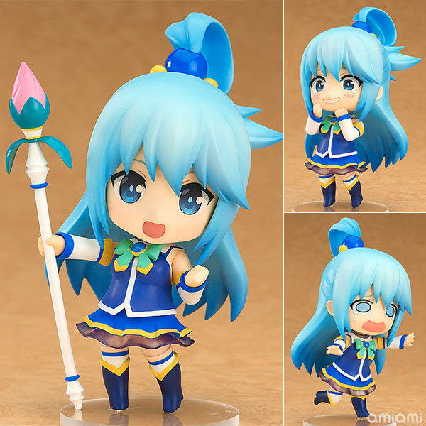 10cm Konosuba God's Blessing On This Wonderful World Aqua 630# Sexy Anime PVC Action Figure Collection Model Toys New Brinquedos