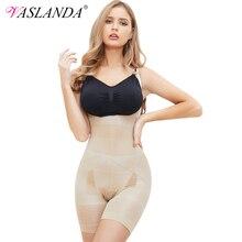 VASLANDA Women Seamless Tummy Control Shapewear Open Bust Bodysuits Waist Faja Butt Lifter Body Shaper Lumbar Trainer Underwear