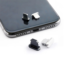 Port-Plug Gadget iPhone-Accessories/gadget Charge Metal for Xsmax Xr Max-Pro 8 7