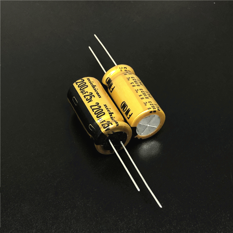 5pcs/20pcs 2200uF 25V NICHICON FW Series 12.5x25mm 25V2200uF HiFi Audio Capacitor