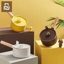 Mini latte pentole Regalo Di Natale di Cioccolato Al Latte Zuppa di No Stick Pentola di Cottura Uso Generale per il Gas e Piano Cottura A Induzione
