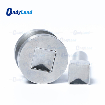 CandyLand Square Tablet Die Pill Press Die Candy Punch Die Set Custom Logo Punch Die Cast Pill Press For Tablet TDP Machine