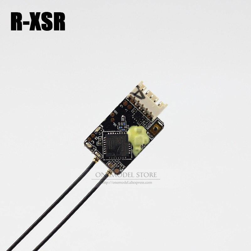 FrSky R-XSR/RXSR Ultra SBUS/CPPM commutable D16 16CH Mini redondance récepteur RX 1.5g pour émetteur RC TX Drone modèles Drone