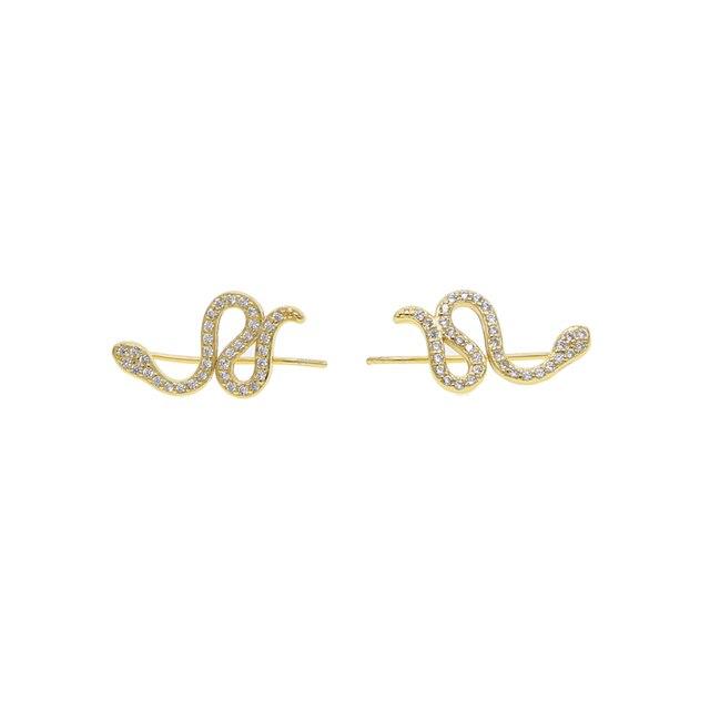 Купить женские серьги гвоздики из серебра 2019 пробы с фианитом