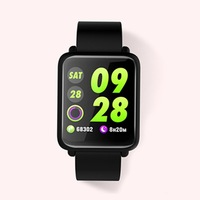 M28 1.3 Inch TFT Color Screen Smart Bracelet IP67 Waterproof TPU Wrist Strap Support Call Mention