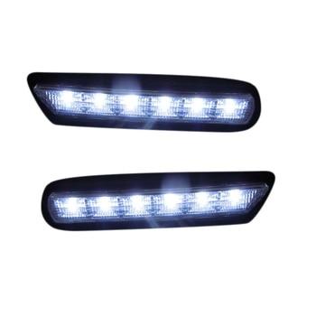 1 Set White LED Daytime Running Lights Fog Lamp DRL for Mitsubishi ASX 2010-2012