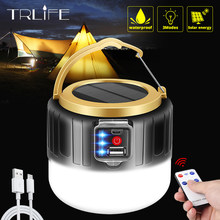 280W Tragbare Laterne USB/Solar Lade Licht 190W Nacht Markt Lampe Mobile Outdoor Camping Stromausfall Notfall lampe für BBQ(China)