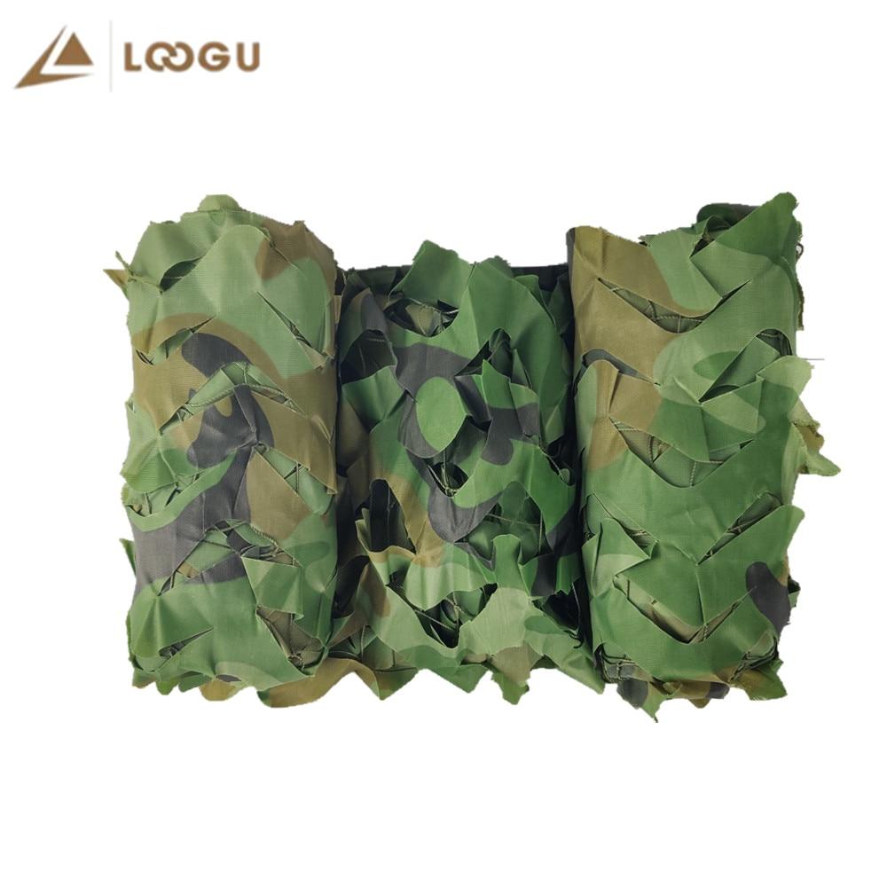LOOGU Woodland усиленный камуфляж сети армия армия камуфляж сетка для охоты на открытом воздухе навес стрельба сад затенение джунгли лагерь