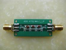 Função elíptica 7th-order lowpass do rádio do hf do lpf rf do filtro da baixa-passagem 433mhz 470m