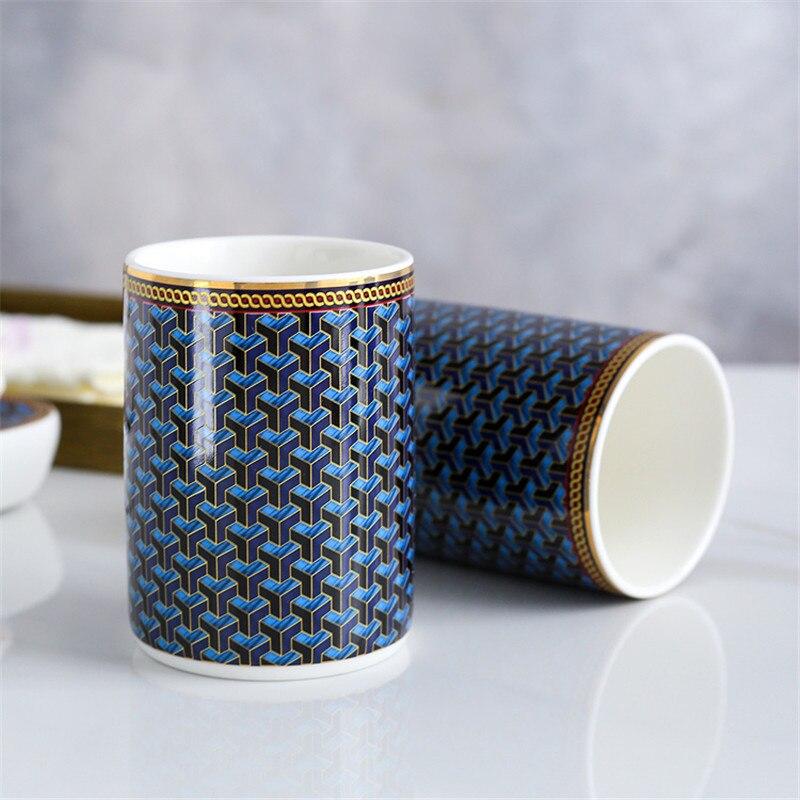 Luxurious Ceramic 6PC Soap Dispenser Set - Bed & Bath