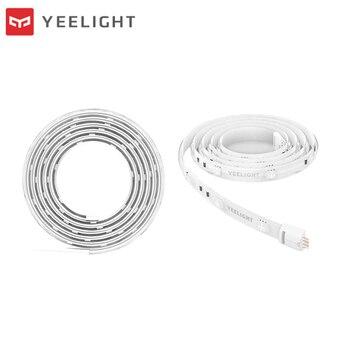 Yeelight Youpin mijia Smart Light Strip PLUS 1m Extendable LED RGB Color Strip Lights Work Assistant Mi Home Automation