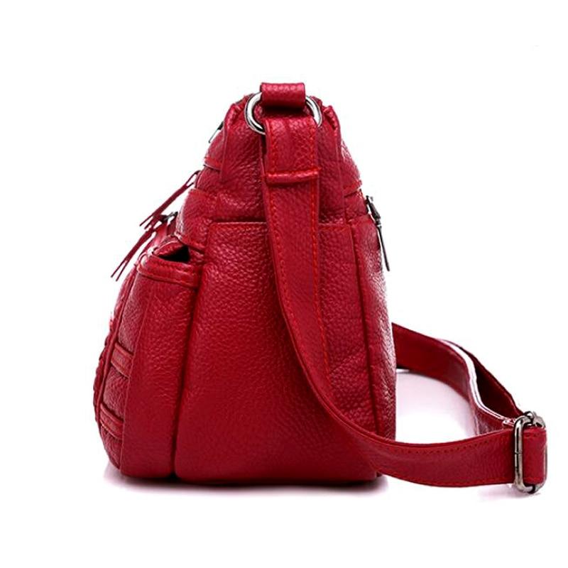 dm prime fênix bolsa de cor vermelha lateral