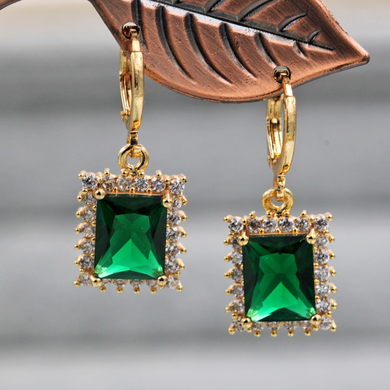 H59d2cc7ce041483aaf0c0681d7371fe6G - Trendy Vintage Drop Earrings For Women Gold Filled  Red Green Pink Lavender Zircon Earrings Gold  Earring Wedding  Jewelry