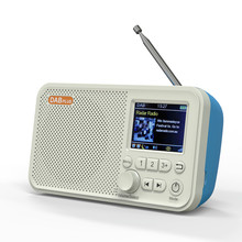 DAB Digital Radio, FM Radio, 2.4-Inch Color LED Display, With Bluetooth Support To Insert SD Card, MP3 Player