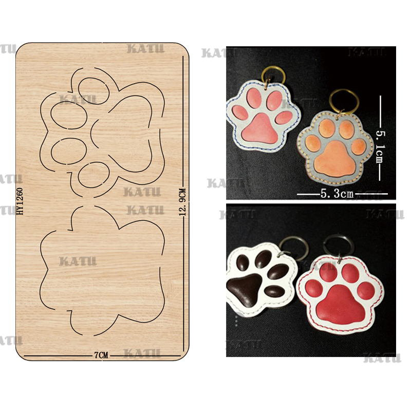 Animal Paw Cutting Dies 2019 New Die Cut &wooden Dies Suitable For Common Die Cutting Machines On The Market