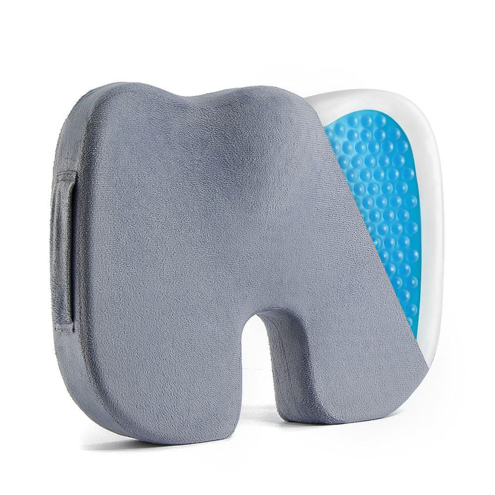 Hot Sale Travel Breathable Seat Cushion Coccyx Orthopedic Memory Foam U Seat Massage Chair Cushion Pad Car U-Shape Seat Cushion