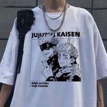 Camisa de manga curta t camisa de manga curta anime engraçado impresso streetwear camiseta