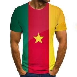 2020 lato nowy T Shirt mężczyźni bluza 3D drukuj krótki rękaw dorywczo luźne wokół szyi Hip Hop ulica góry