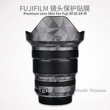 Наклейка на объектив для Fuji XF10 24 F4 R Защита от царапин покрытие обложка чехол