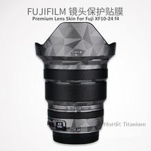 Lens Decal Skin Sticker For Fuji XF10 24 F4 R Protector Anti scratch Coat Wrap Cover Case