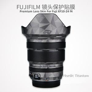 Image 1 - عدسة لصقة جلد صناعي ملصق ل فوجي XF10 24 F4 R حامي المضادة للخدش معطف التفاف الغلاف