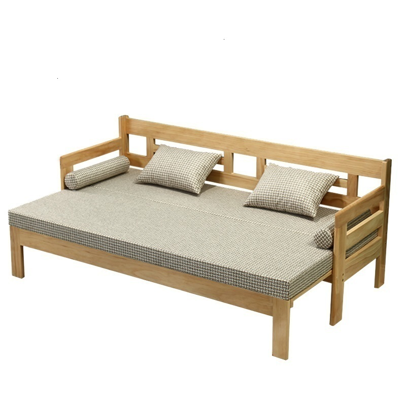 Para Koltuk Takimi Divano Letto Sillon Couche For Meubel Wooden Retro Mobilya Set Living Room Furniture De Sala Mueble Sofa Bed