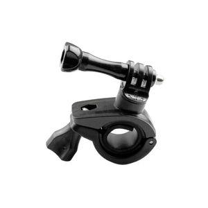 Image 3 - Go Pro Hero מצלמה אופניים הר אופני אופנוע סוגר בעל תמיכה עבור gopro Hero 3 + 6/5/4/3/2 שלד מסגרת Stand קליפ