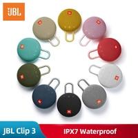 Original JBL Clip 3 Speaker Wireless Portable Bluetooth Streaming IPX7 Waterproof 1000mAh Rechargeable Mini Portable Loudspeaker