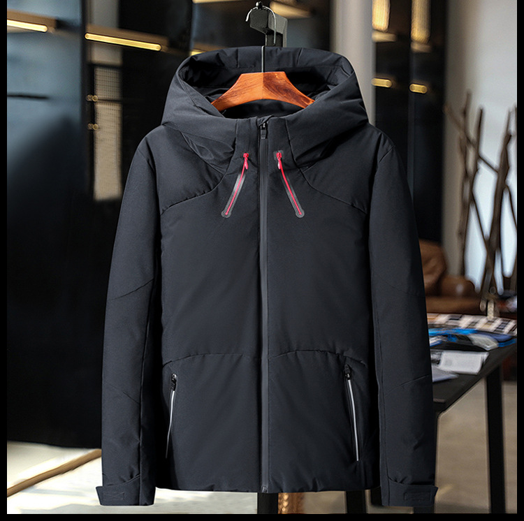 HO new 19 thickening down jacket young men brief paragraph clothes leisure in winter to keep warm 3