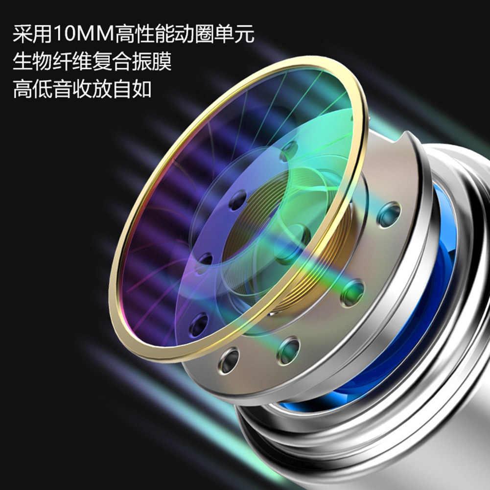 Roreta çift mekanizmalı Stereo kablolu kulaklık kulak spor mikrofonlu kulaklık mini kulaklık kulaklık iPhone Samsung Huawei Xiaomi için