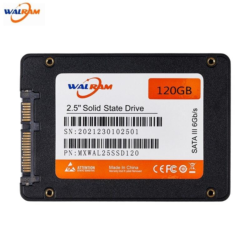 WALRAM SSD 1tb 120gb 240 gb 480gb 2tb SSD HDD 2.5'' SSD SATA SATAIII 512gb 256gb 128gb Internal Solid State Drive for Laptop