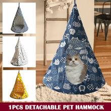 Cute Removable Pet Hanging House Conical Hammock Washable Tent for Small Dogs Cats P666