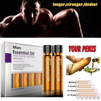 Aceite de aumento de masaje para el cuidado de la salud para agrandar la erección del pene líquido para hombre Miembro grande para el crecimiento espesante del pene