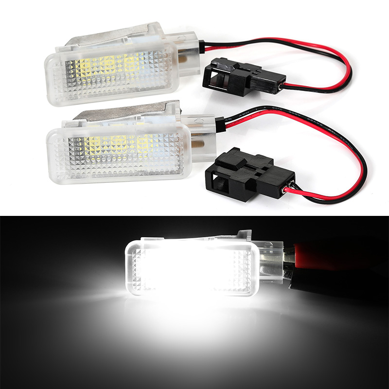 2x LED Car Interior lamp Seat <font><b>light</b></font> footwell <font><b>light</b></font> 12v for <font><b>Audi</b></font> A2 <font><b>A3</b></font> S3 A4 B5 B6 B7 B8 RS4 A5 S5 A6 S6 C5 C6 A7 A8 Q5 Q7 TT TTS image