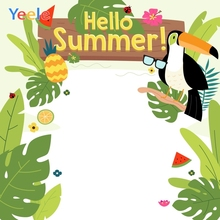 Yeele Summer Party Photocall Tropical Trees Vacation Photography Backdrops Personalized Photographic Background For Photo Studio