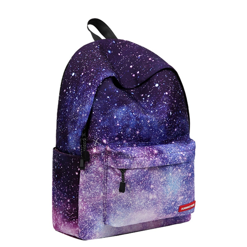 2019 Galaxy Women Men Backpack Female Teenage Girl School Bag Casual Laptop Male Bag pack Kids Favors School Backpack in Backpacks from Luggage Bags