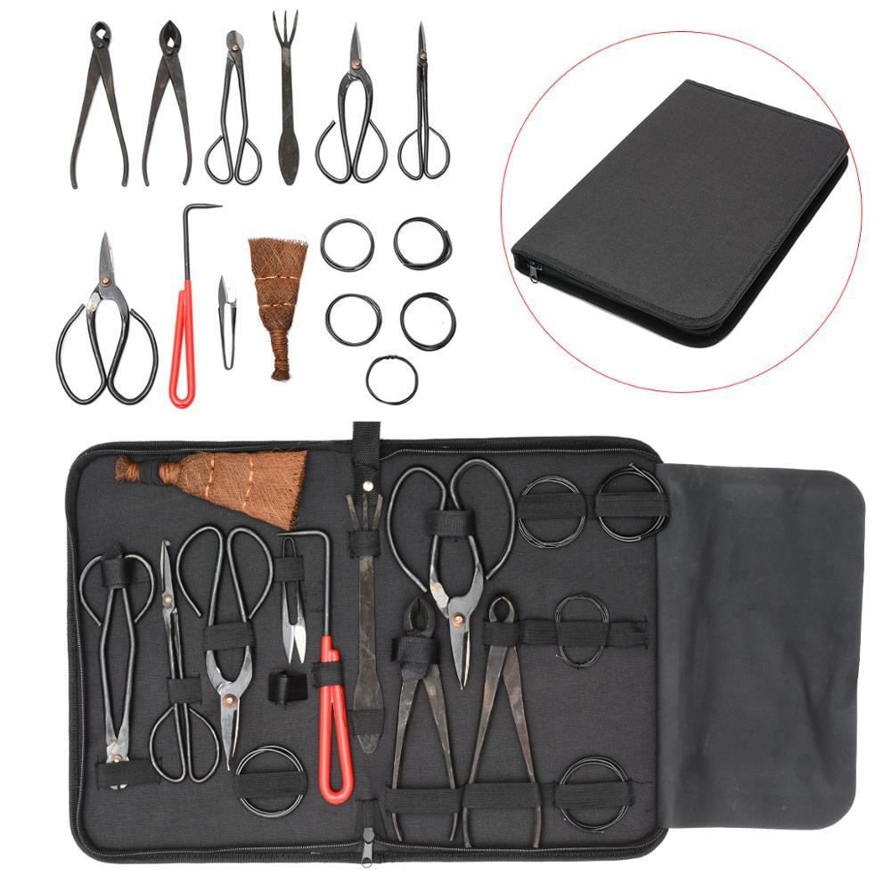 Neueste 1/10Pcs Bonsai Werkzeug Set Umfangreiche Cutter Schere Für Garten Beschneiden Werkzeuge Bonsai Styling Werkzeuge
