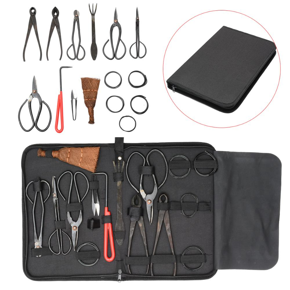 Newest 1/10Pcs Bonsai Tool Set Extensive Cutter Scissors For Garden Pruning Tools Bonsai Styling Tools