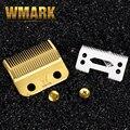 WMARK профессиональная машинка для стрижки волос лезвие высокая коробка сталь клипер аксессуары золотой с керамическим лезвием для беспрово...