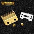 WMARK professionnel tondeuse à cheveux lame haute carton acier tondeuse accessoires doré avec lame en céramique pour tondeuse sans fil