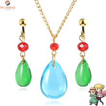 Japanese Howl's Moving Castle Necklace Howl Cosplay Costumes Necklace Fashion Jewelry For Women Men black howl