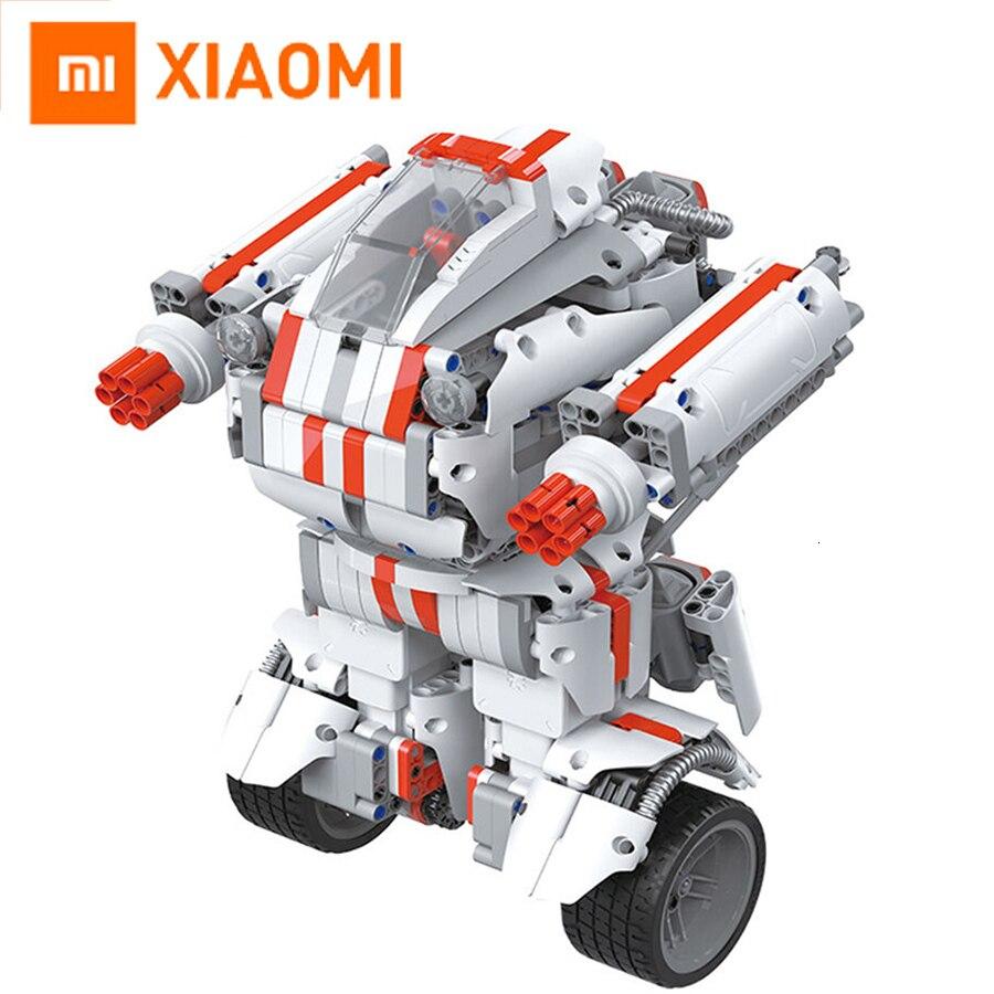 Tüketici Elektroniği'ten Akıllı Uzaktan Kumanda'de Xiaomi Robot yapı taşı Robot Bluetooth mobil uzaktan kumanda 978 yedek parçaları kendinden denge sistemi modülü programı title=