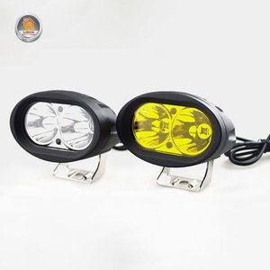Image 2 - 2Pcs 20W LED Headlights LED Work Light Spotlight 6000K LED Driving Fog Lamp Offroad Car Truck Motorcycle Tractor 12V 24V
