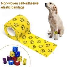 15 kolorów Self-przylepny bandaż elastyczny opieki zdrowotnej leczenie kamuflaż bandaże tkanina bawełniana włókniny tkaniny w nagłych wypadkach taśma