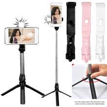 Selfie Stick Tripod Wireless Remote and Tripod Stand Monopod Bluetooth Selfie Stick for iPhone X 8/8 Plus xiaomi for huawei